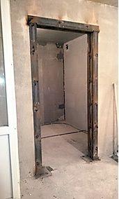 Усиление дверного прохода при перепланировке.