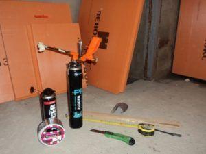 Инструменты и расходники для работы