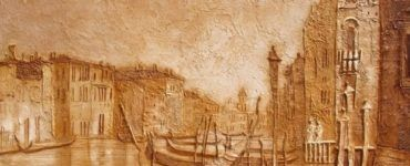 Венецианка из шпаклевки