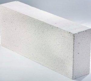 Теплоизоляционный пенобетонный блок