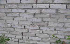 Разлом стены