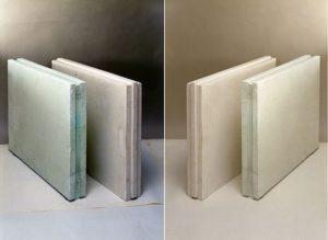 Разновидности материала (влагостойкие и обычные блоки)