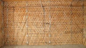 Набивка дранки на деревянные стены