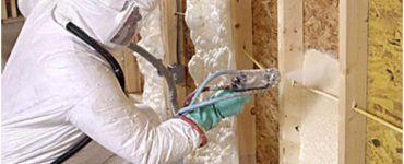 Утепление стен монтажной пеной можно без труда произвести своими руками
