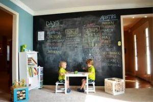 Оригинальное оформление детской комнаты