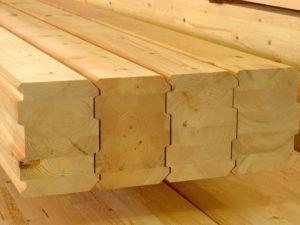 Клееный брус - ведущий материал в деревянном строительстве