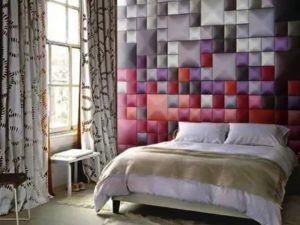 Мягкие стены спальни
