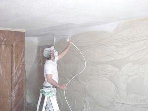 Применение специального оборудования для покраски