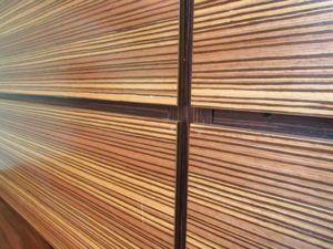 Шпонированные панели для стен