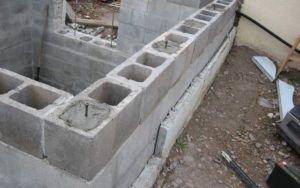 Применение стеновых блоков