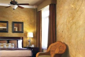 Дизайн стен: декоративная штукатурка из обычной шпаклевки
