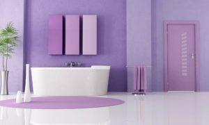 Гармонично декорированная ванная комната