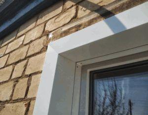 Уголок с внешней стороны окна