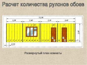 Развернутый план комнаты