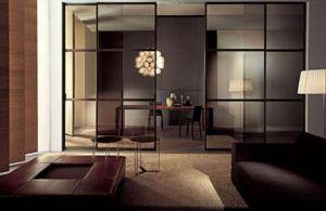 Стеклянные перегородки – стильное и функциональное решение для любой квартиры
