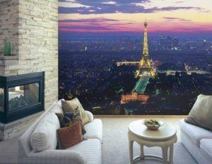 Фотообои имеют просто невероятный вид и прекрасно впишутся в любую гостиную.