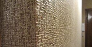 Виниловое покрытие стен в коридоре
