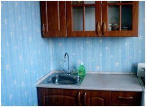 Отделка кухни панелями из пластика