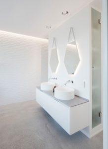 Ванная комната с панелями МДФ