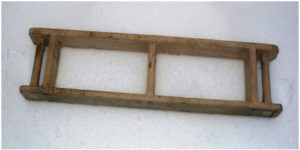 Деревянная опалубка для отливки 2-х декоративных плиток