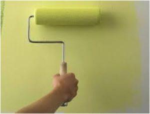 Использование водоэмульсионных красок в интерьере