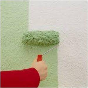 При использовании масляных красок необходимо часто менять валики, чтобы слой краски был ровным