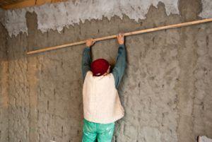 Задача – выровнять стену