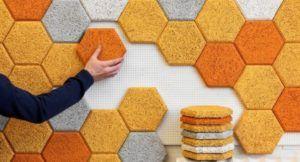 Современная шумоизоляция квартир из отдельных пробковых плиток