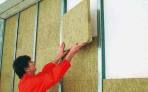 Использование минеральной плитной ваты для шумоизоляции стен