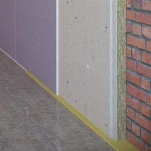 Пример бескаркасного способа шумоизоляции стен
