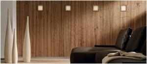 Дизайн с применением плит из цельной древесины