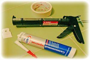 Необходимые материалы для герметизации стыка