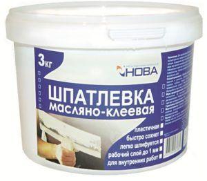 Шпатлевка масляно-клеевого типа