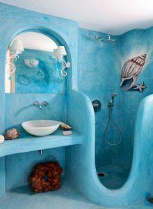 Эксклюзивный дизайн ванной.