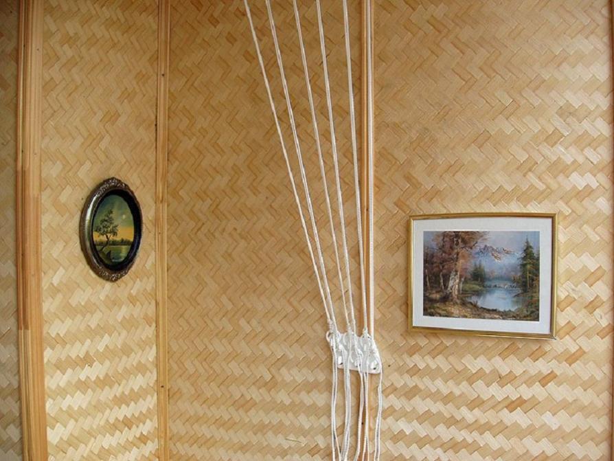 стена бамбук