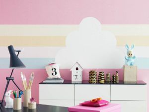 стены цветные