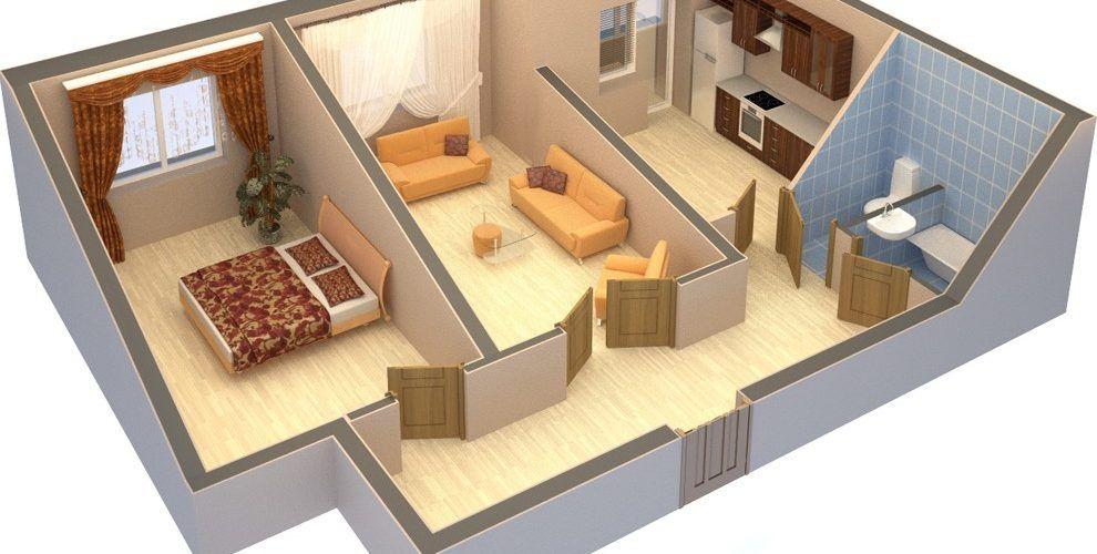 Какие стены можно сносить в панельном доме
