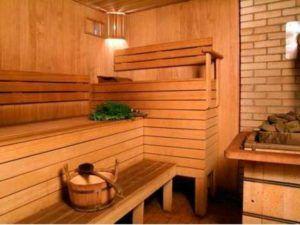Отделка моечной в бане