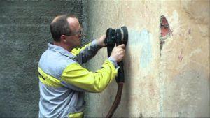 Оклеивание стен гипсовой плиткой