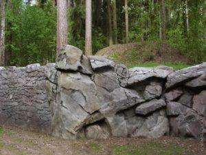 стена участок