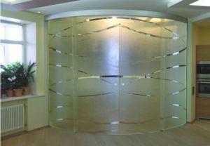 стекло перегородка
