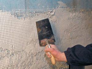 стена шпатель