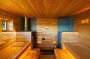 баня изнутри