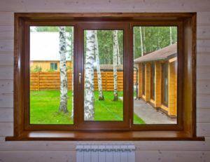 окно дома
