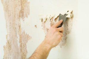 Как быстро снять моющиеся обои со стены