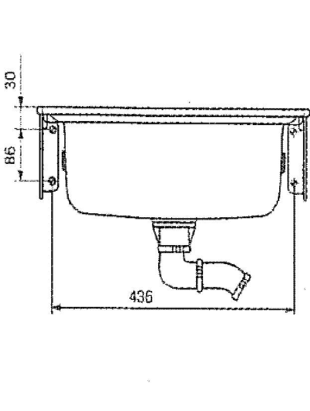 Как прикрепить раковину к стене