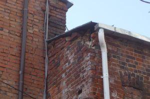 старое строение