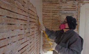 деревянные стены