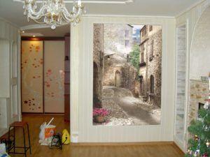 Фотообои и фрески на стену в интерьере