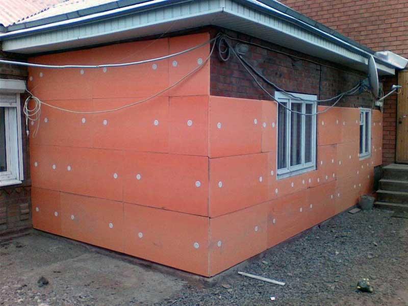 Пеноплекс способы крепления к стене